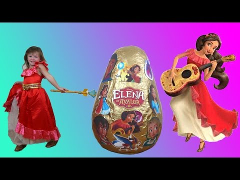 NEW Disney Princess Elena Of Avalor Movie Super Giant Egg Surprise The Disney Toy Collector