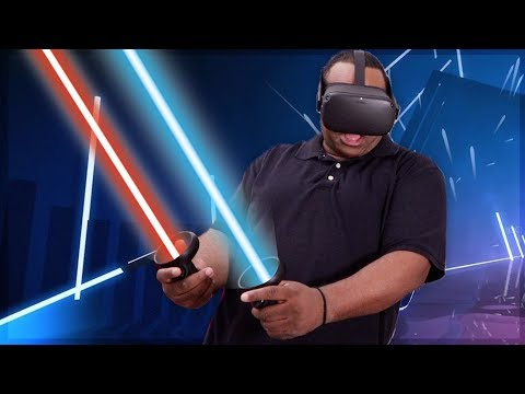 TRYING Oculus Quest for the FIRST TIME! [3 VR GAMES]
