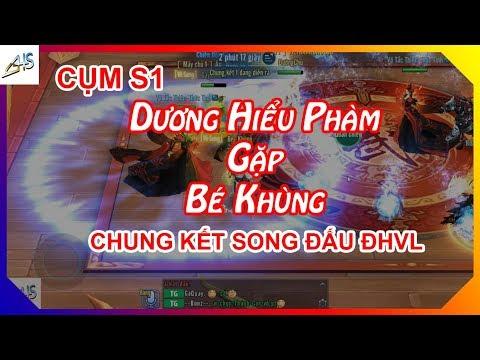 VLTK Mobile - Dương Hiểu Phàm gặp Bé Khùng tại chung kết song đấu Đại Hội Võ Lâm - Thời lượng: 17:45.