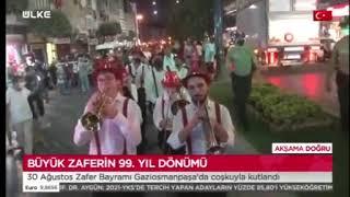 Gaziosmanpaşa'da 30 Ağustos Coşkusu- Ülke Tv