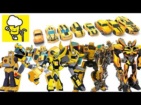 Different Bumblebee Transformer Robot Truck Toys Robots In Disguise Bumblebee Movie 2018