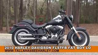 7. Used 2010 Harley Davidson FatBoy Lo Motorcycles for sale - Jacksonville, FL