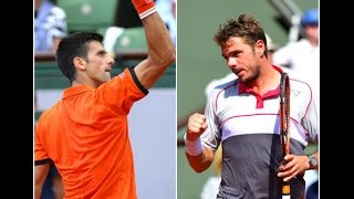 Tennis Highlights, Video - [HD]Novak Djokovic vs Stanislas Wawrinka Highlights HD Roland Garros 2015