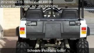 10. 2012 HiSun HS 700 UTV 4x4 Side By Side - for sale in MESA, A
