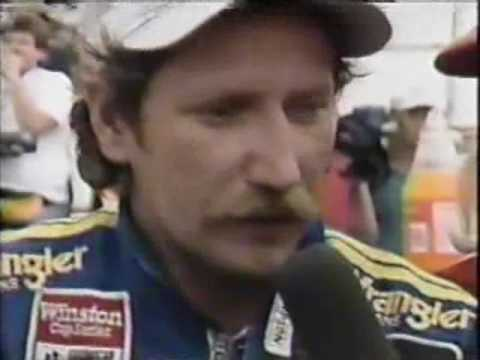 1986 First Union 400 post race