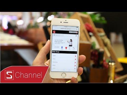 Trên tay nhanh iPhone 6 Gold 64GB