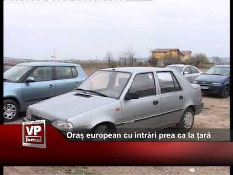 Oraș european cu intrări prea ca la țară III
