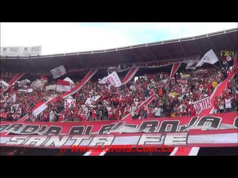 - Independiente Santa Fe Vs Equidad - Liga Águila Clausura 2015 - Previa! - La Guardia Albi Roja Sur - Independiente Santa Fe