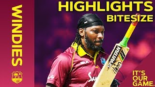 Windies vs England 1st ODI 2019 | Bitesize Highlights