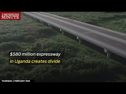 Ugandans are divided over a new highway being built by the Chinese.