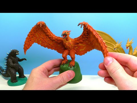 Making RODAN - Godzilla King of the Monsters 2019 with Clay