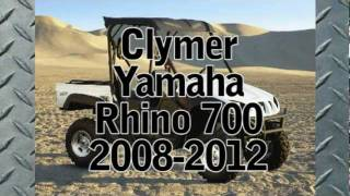 2. Clymer Manuals Yamaha Rhino 700 Manual Rhino Manual Repair Service Shop Manual ATV Video