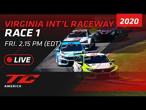 RACE 1 - VIRGINIA - TCR / TC / TCA 2020