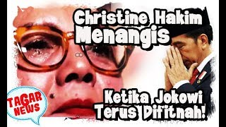 Video Ketika Christine Hakim Sedih Jokowi Terus Difitnah MP3, 3GP, MP4, WEBM, AVI, FLV Juni 2019