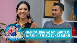 Download Video GIGI Jadi TYAS MIRASIH, BUNGA ZAENAL dan BELLA, Ini Ekspresi Raffi - Rumah Seleb (16/7) PART 4 MP3 3GP MP4