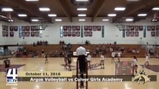Argos Volleyball vs. Culver Girls Academy