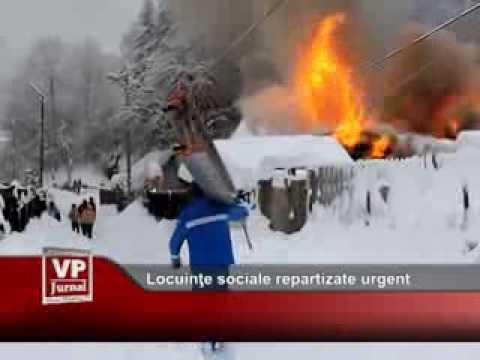 Locuinţe sociale repartizate urgent