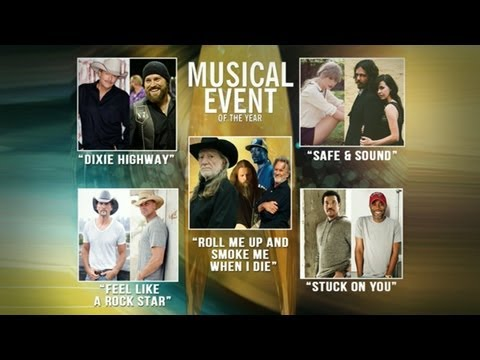 CMA Awards 2012 Winners: Best Video, Best Musical Event Winners Revealed on 'Good Morning America'