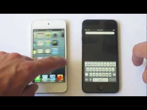 White itouch - Comparing the colors: White vs Black 5th Generation iPod Touch If you Like the Video please Like and Subscribe!