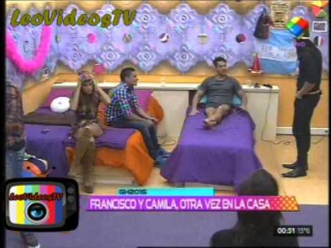 Primeros momentos de la casa con Francisco y Camila GH 2015 #GH2015 #GranHermano