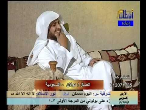 متصل يحرج الشيخ إبراهيم الدويش على الهواء