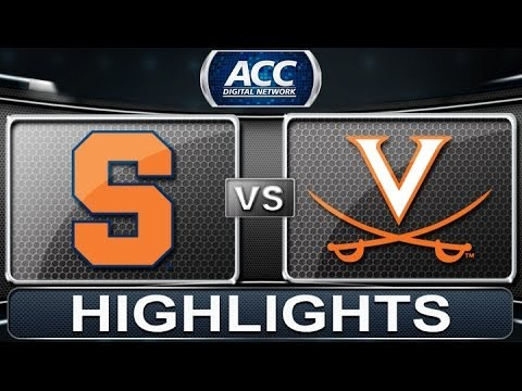 Virginia - Virginia locked up the #1 seed for the ACC tournament with a 75-56 win over Syracuse on Saturday. The Cavaliers were led by a Malcolm Brogdon, who finished w...