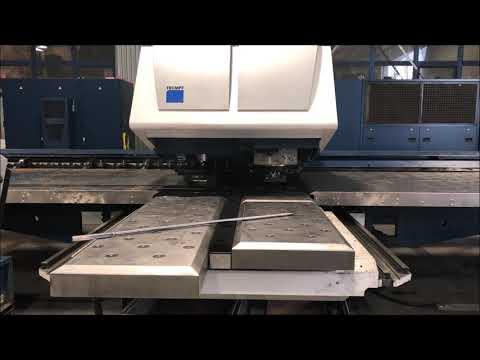 Vysekávací lis s laserem TRUMPF TruMatic 7000 2012