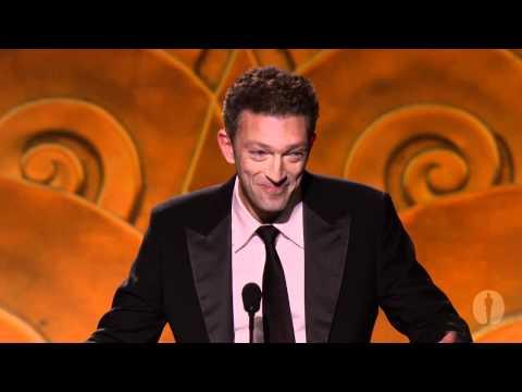 2010 Governors Awards -- Vincent Cassel on Jean-Luc Godard