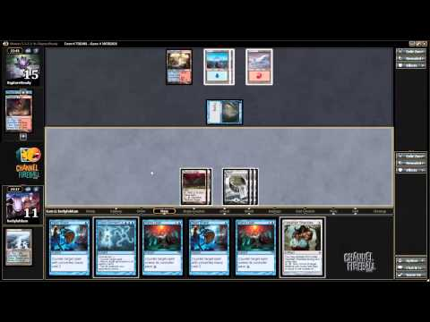 Blue - Jacob Wilson is brewing in Modern, and brings you a mono-blue control deck built to abuse Dig Through Time! For the full playlist head to ChannelFireball.com.