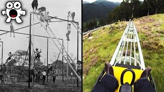 Video Top 10 Extreme Kids Playgrounds You'd Be Too Scared To Play At MP3, 3GP, MP4, WEBM, AVI, FLV Desember 2018