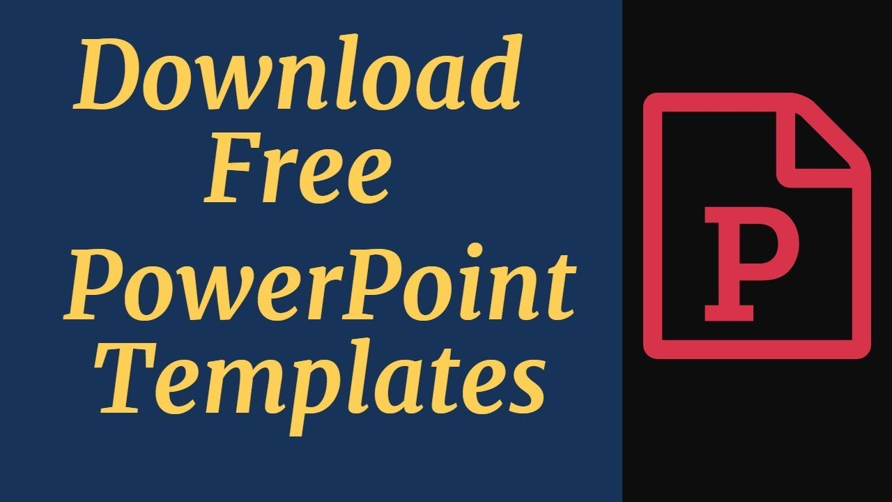 Picture of 5 Perfect Web-sites Toward Obtain No cost Powerpoint Templates Devoid of Signing Up or Registration