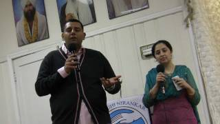 Elizabeth (NJ) United States  City pictures : Renu & Vivek Ji Sharing Experiences @ Elizabeth NJ , USA Bhawan on Feb 23, 2012 - Guru Puja Diwas