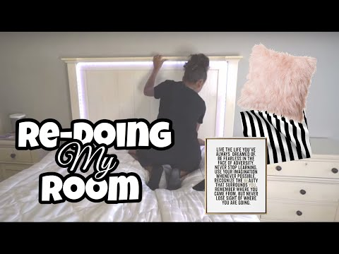Redecorating My Room In 24 Hours (room Makeover) | Lexivee03