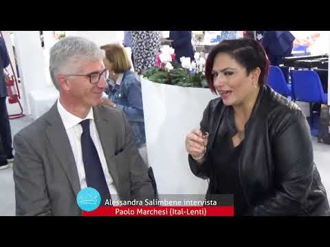 Alessandra Salimbene intervista Paolo Marchesi (Ital-lenti) a ExpoOtticaSud-Taormina