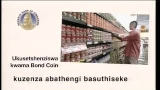 Bond coins isiNdebele.