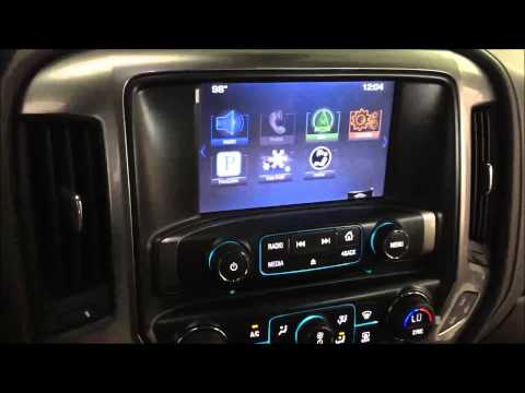 2015 Silverado MyLink Smartphone Navigation Interface