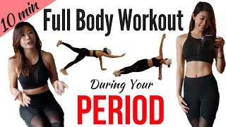 """Download Lagu 10 min Workout on Period!  Best Exercises During """"That Time of the Month"""" to Help with PMS Mp3"""