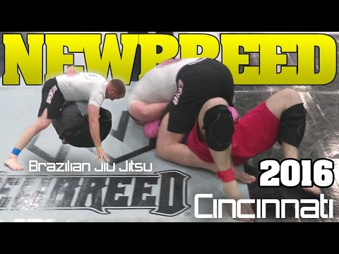 New Breed Cincinnati brazilian jiu jitsu Tournament 2016 (видео)