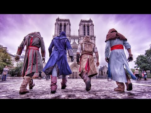 Assassin's Creed Unity Meets Parkour in Real Life – 4K!
