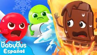 Equipo de Rescate de Caramelos Coloridos | Dibujos Animados | Aprende Colores | BabyBus Español