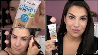 REVIEW: NEW CoverGirl Clean Matte BB Cream by Beauty Broadcast