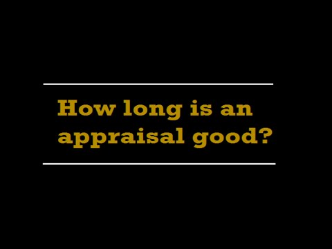 How long is a home appraisal good?  A Quality Appraisal – 503.781.5646