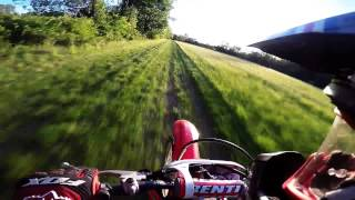 2. Honda CRF230F Top Speed and Racing XR80R, GoPro Hero 4