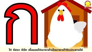 อ่านและท่อง ก.ไก่ - ฮ.นกฮูก