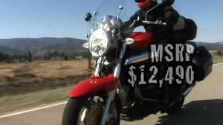 2. Motorcycle Reviews - 2007 Air-Cooled Twins Naked Comparo: Moto Guzzi Breva 11