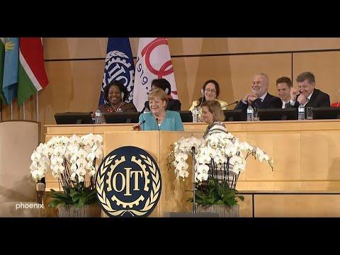 ILO-Jubiläum: Rede von Bundeskanzlerin Angela Merkel