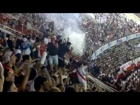 Video - Hinchada de River vs Argentinos [GOL INCLUIDO] - Inicial 2013 - Los Borrachos del Tablón - River Plate - Argentina