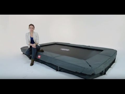 BERG EazyFit + Safety Net Deluxe EazyFit trampolines