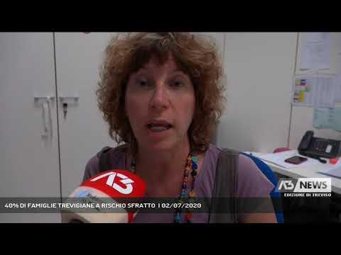 40% DI FAMIGLIE TREVIGIANE A RISCHIO SFRATTO  | 02/07/2020