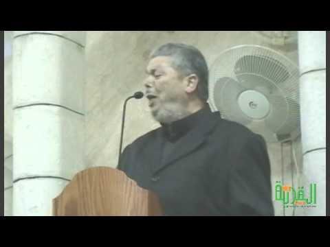 خطبة الجمعة لفضيلة الشيخ عبد الله 23/11/2012